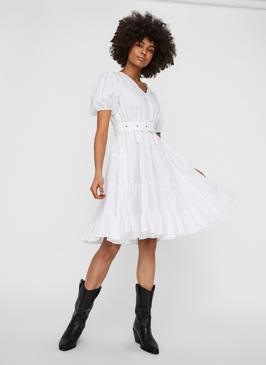 Fabrika Copenhagen Elbise Beyaz